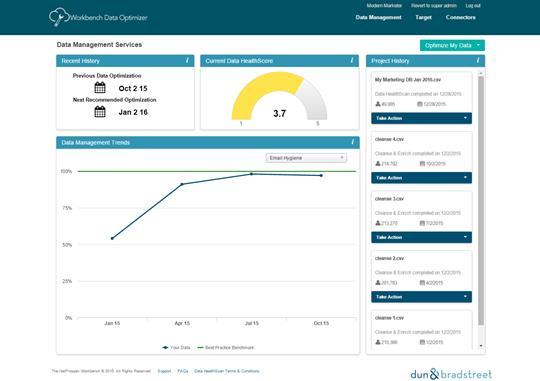 NetProspex Data Health Optimizer Report (Workbench)