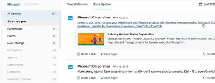 Contify Social Updates