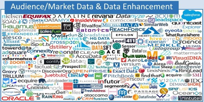 Snippet from the 2017 Marketing Technology Landscape (Source: Scott Brinker, Chiefmartec.com)