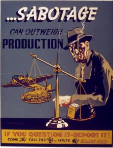 WWII Era Poster (U.S. National Archives and Records Administration)