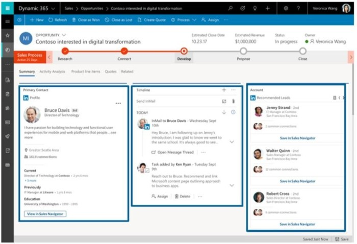 New SNAP modular elements from within Microsoft Dynamics.